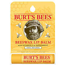 Buy Burt's Bees Beeswax Lip Balm, 4.25g Online at johnlewis.com