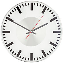 Buy John Lewis Aron Wall Clock, Dia.29.5cm Online at johnlewis.com