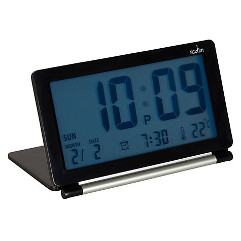 Buy Acctim Flip Alarm Clock Online at johnlewis.com