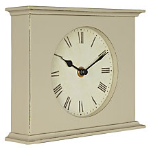 Buy Thomas Kent Distressed Short Landscape Mantle Clock Online at johnlewis.com