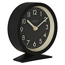 Buy Thomas Kent Milton Round Clock, Black Online at johnlewis.com