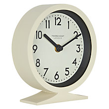 Buy Thomas Kent Milton Round Clock, Cream Online at johnlewis.com
