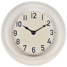 Buy Garden Trading Small Outdoor Clock, Clay Online at johnlewis.com