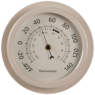 Garden Trading Outdoor Thermometer, Clay