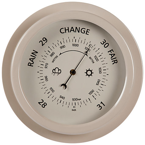 Buy Garden Trading Outdoor Barometer, Clay Online at johnlewis.com
