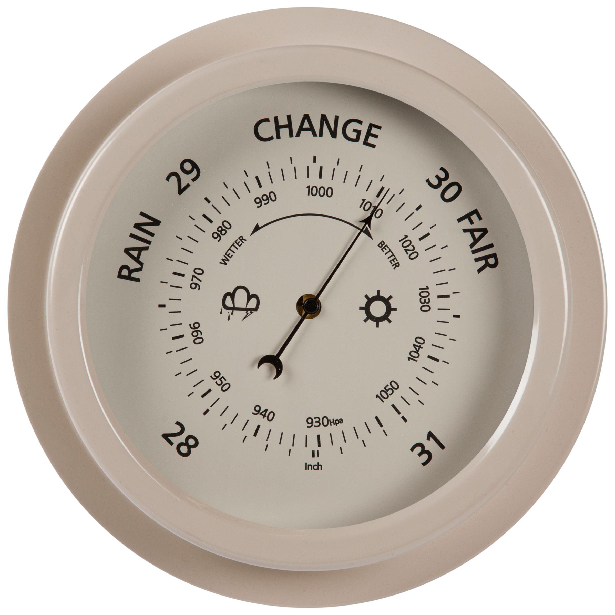 Garden Trading Garden Trading Outdoor Barometer, Clay