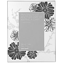 Buy John Lewis Black Flower Photo Frame Range Online at johnlewis.com