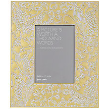 "Buy John Lewis Gold Butterfly Photoframe, 3.5 x 5"" (9 x 13cm) Online at johnlewis.com"