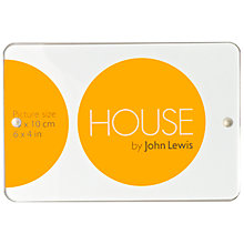 "Buy House by John Lewis Magnet Frame, 4 x 6"" (10 x 15cm) Online at johnlewis.com"