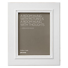 "Buy John Lewis New Distressed Photo Frame, Cream, 6 x 8"" (15 x 21cm) Online at johnlewis.com"