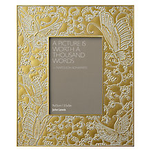 "Buy John Lewis Pewter Lace Photo Frame, 5 x 7"" (13 x 18cm) Online at johnlewis.com"
