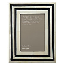 "Buy John Lewis Tribal 4 Photo Frame, 4 x 6"" (10 x 15cm) Online at johnlewis.com"