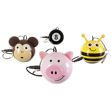 Buy KitSound Mini Buddy Pig Speaker, Pink Online at johnlewis.com