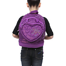 Buy Desigual Judias Bag, Purple Online at johnlewis.com