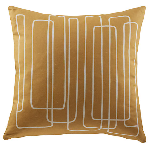 Buy G Plan Vintage Loopy Lines Scatter Cushion, Tonic Mustard Online at johnlewis.com