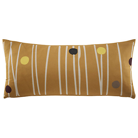 Buy G Plan Vintage Bolster Cushion, Dash Dot Mustard Online at johnlewis.com
