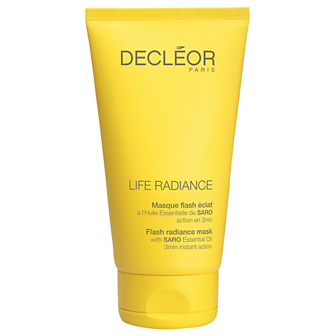 Buy Decléor Radiance Flash Mask, 50ml Online at johnlewis.com
