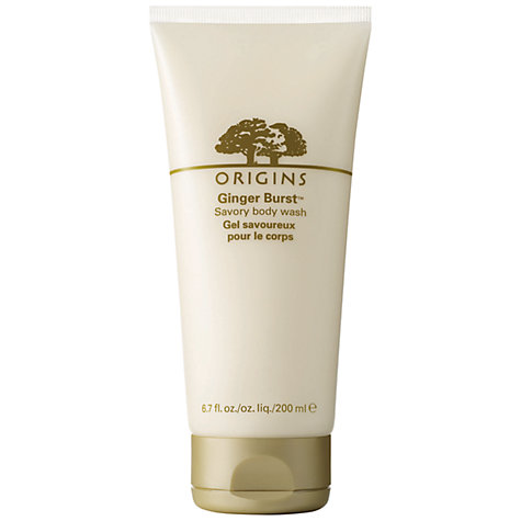 Buy Origins Ginger Burst Savory Body Wash, 200ml Online at johnlewis.com