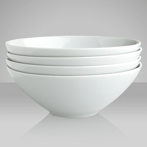 Buy LSA Dine Cereal Bowl, Set of 4, Dia.18cm Online at johnlewis.com