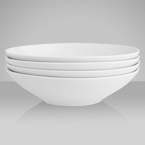 Buy LSA Dine Soup and Pasta Bowl, Set of 4, Dia.24cm Online at johnlewis.com