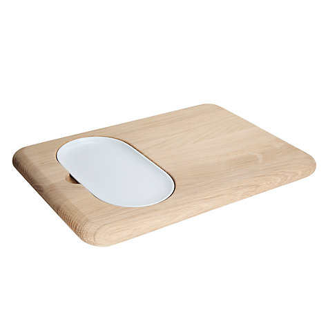 Buy LSA Dine Oak Serving Board Online at johnlewis.com