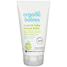 Buy Organic Babies Mum And Rescue Balm Online at johnlewis.com