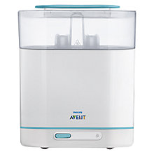 Buy Philips Avent 3-in-1 Electric Steam Steriliser Online at johnlewis.com