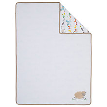 Buy John Lewis Farmyard Baby Blanket Online at johnlewis.com