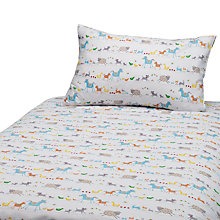 Buy John Lewis Farmyard Cotbed Duvet Cover and Pillow Set Online at johnlewis.com