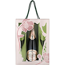 Buy Perrier Jouet Blason Rosé Epoque and Glasses Set, 75cl Online at johnlewis.com