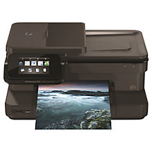 Buy HP Photosmart 7520 e-All-in-One Printer & Fax Machine with Airprint + Adobe Photoshop Elements 13, Photo Editing Software Online at johnlewis.com