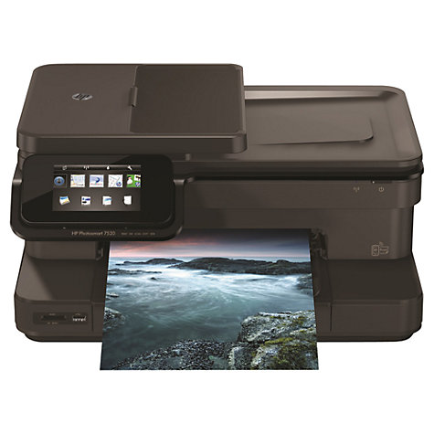 Buy HP Photosmart 7520 e-All-in-One Printer & Fax Machine Online at johnlewis.com
