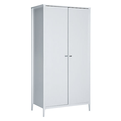 Buy House by John Lewis Maine Double Wardrobe, White Online at johnlewis.com