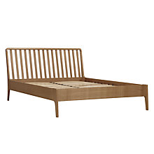 Buy House by John Lewis Maine Bedstead, Ash, Double Online at johnlewis.com