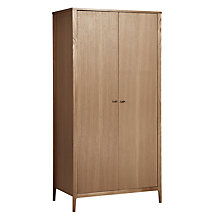 Buy House by John Lewis Maine Double Wardrobe, Ash Online at johnlewis.com