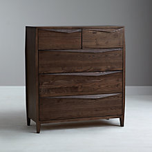 Buy John Lewis Asuka Low 5 Drawer Chest Online at johnlewis.com