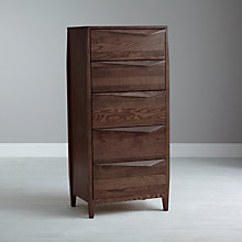 Buy John Lewis Asuka High 5 Drawer Chest Online at johnlewis.com