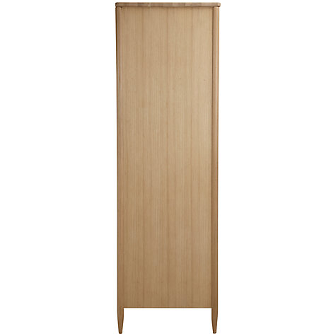 Buy ercol for John Lewis Chiltern Bow 2-door Wardrobe, Oak Online at johnlewis.com