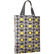 Buy Orla Kiely Daisy Stem Print Across Body Handbag, Yellow Online at johnlewis.com