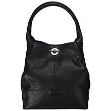 Buy OSPREY LONDON Amis Large Shoulder Handbag, Black Online at johnlewis.com