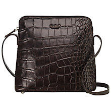 Buy O.S.P OSPREY Basel Large Leather Across Body Handbag Online at johnlewis.com