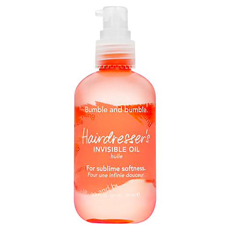 Buy Bumble and bumble Hairdresser's Invisible Oil Online at johnlewis.com