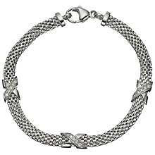 Buy Jools by Jenny Brown 3 Small Kisses Bracelet Online at johnlewis.com