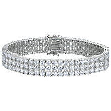 Buy Jools by Jenny Brown 3 Row Tennis Bracelet Online at johnlewis.com