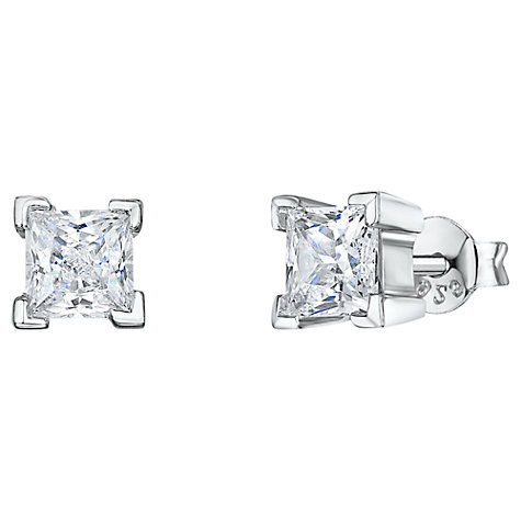 Buy Jools by Jenny Brown Square Stud Earrings Online at johnlewis.com