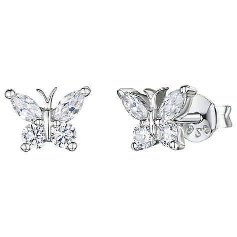 Buy Jools by Jenny Brown Butterfly Stud Earrings Online at johnlewis.com