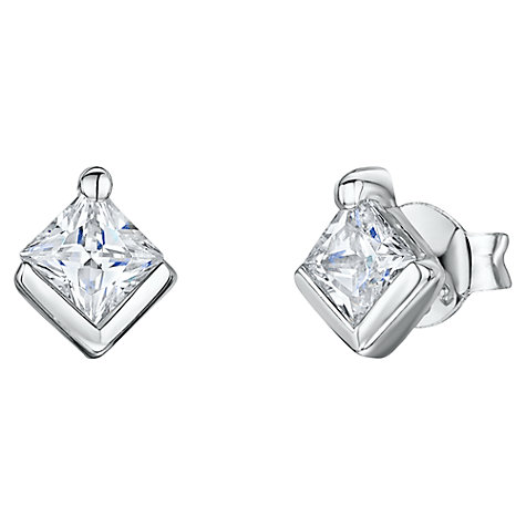 Buy Jools by Jenny Brown 5mm Square Stud Earrings Online at johnlewis.com