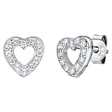 Buy Jools by Jenny Brown Heart Stud Earrings Online at johnlewis.com