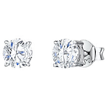 Buy Jools by Jenny Brown Cubic Zirconia Medium Round Stud Earrings Online at johnlewis.com