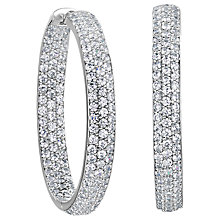 Buy Jools by Jenny Brown Medium Wide Hoop Earrings Online at johnlewis.com